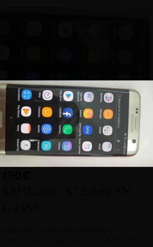Imagen Samsung s7 Edge
