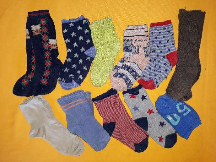 Imagen Lote calcetines, núm 21-23