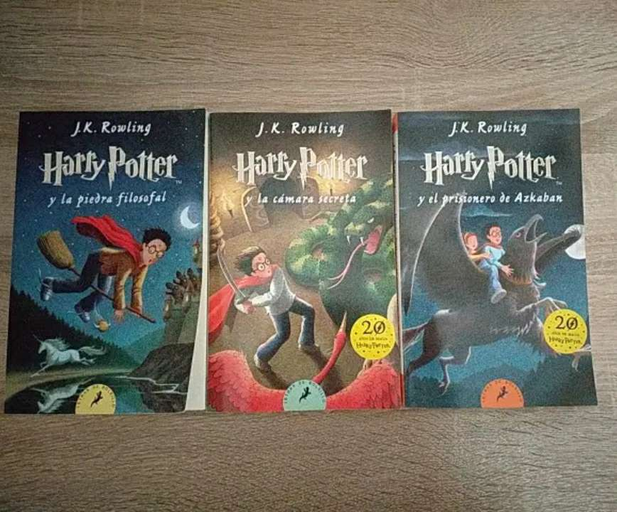 Imagen Libros Harry Potter