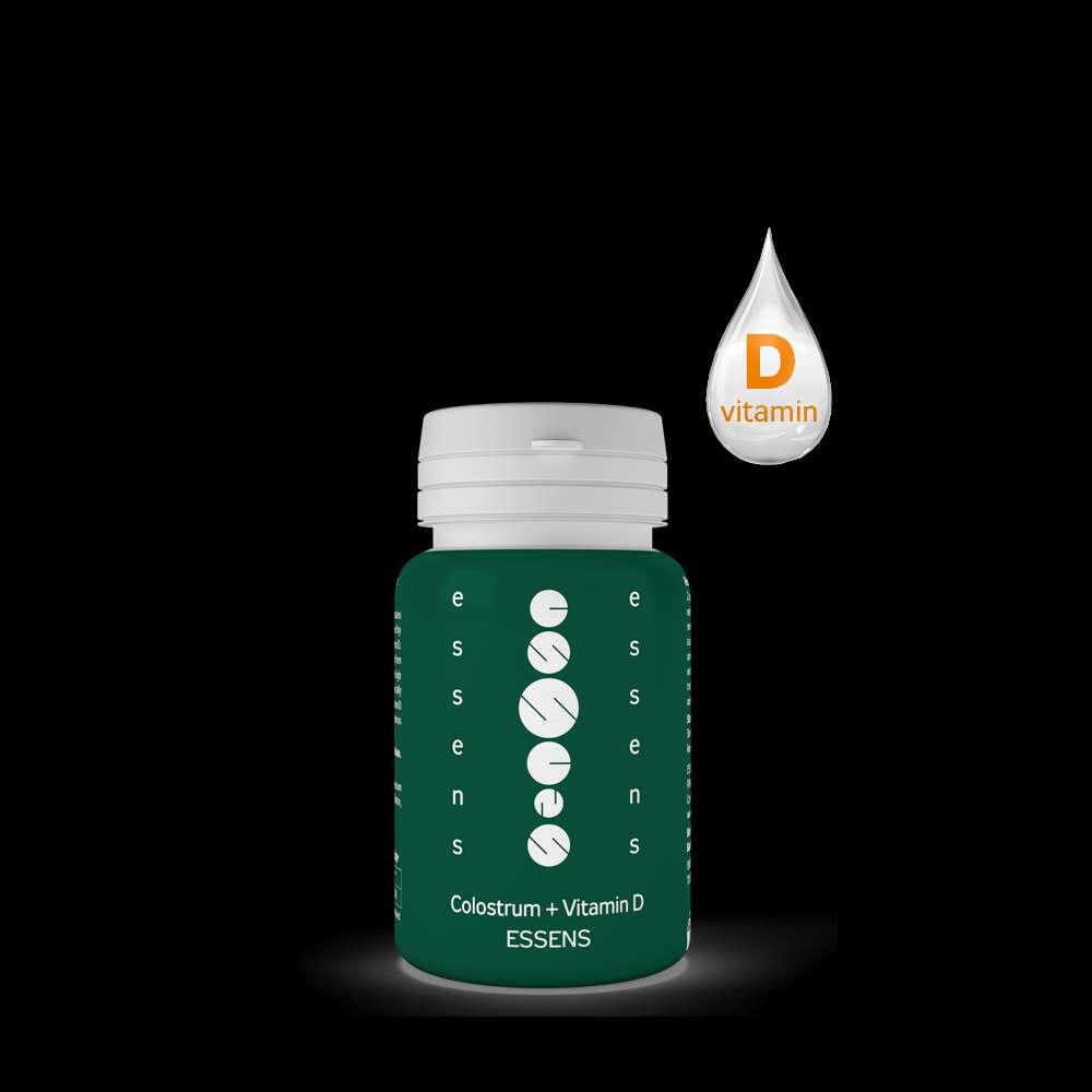 Imagen Calostrum + vitamina D