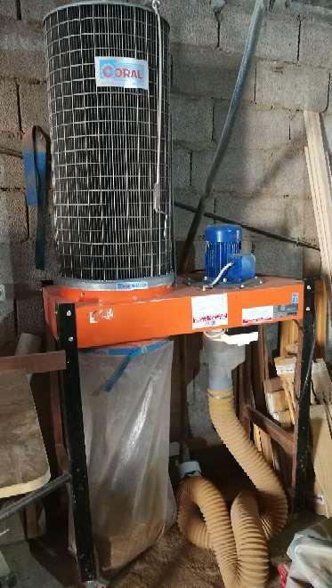 Imagen carpinteria aspirador de serin