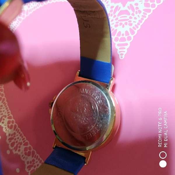 Imagen producto Reloj estilo tous simil piel azul 3