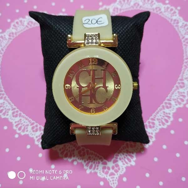 Imagen producto Reloj chica estilo CH varios colores 4