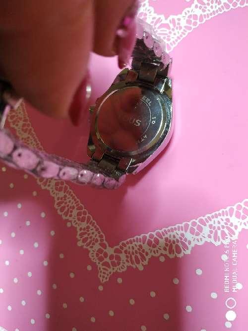 Imagen producto Reloj acero estilo tous en oro rosa o en plateado 3