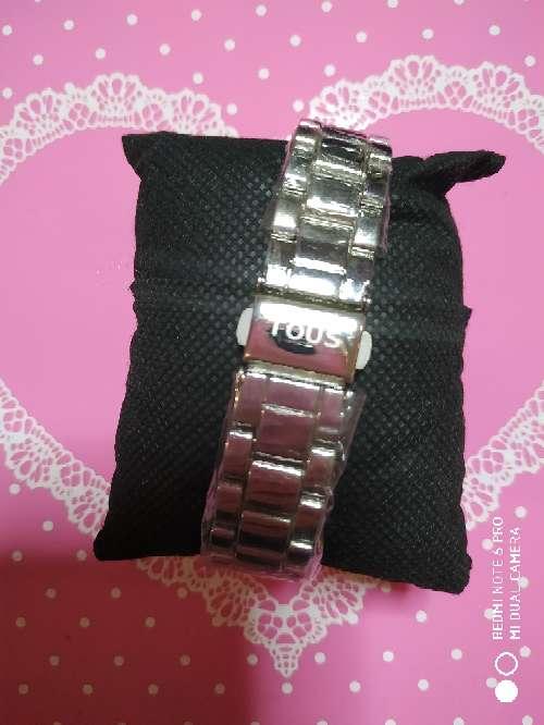 Imagen producto Reloj acero estilo tous en oro rosa o en plateado 2