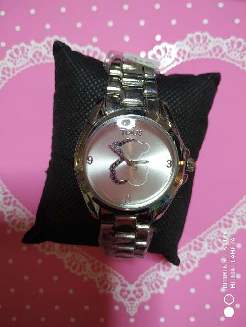 Imagen producto Reloj acero estilo tous en oro rosa o en plateado 1