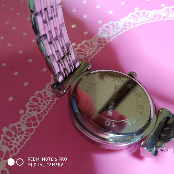 Imagen producto Reloj estilo Emporio Armani oro o plata 3