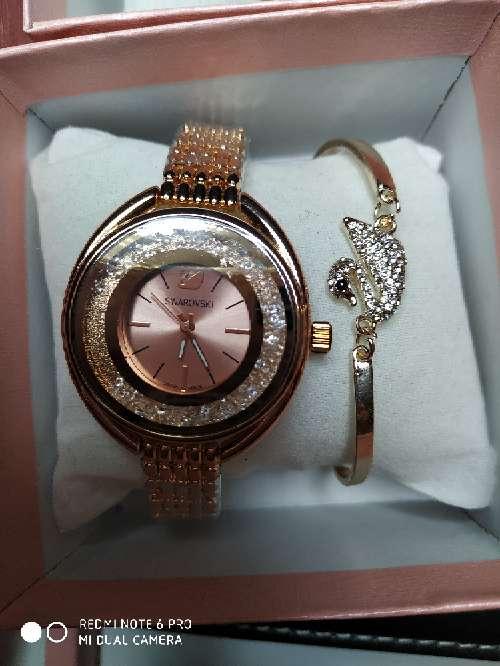 Imagen producto Oferta!!! Pulsera y reloj estilo svaroskwi 2 colores a elegir 6