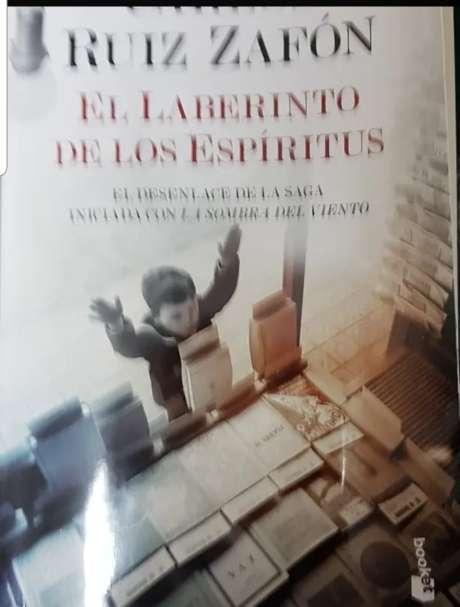 Imagen libro Carlos Ruiz Zafón