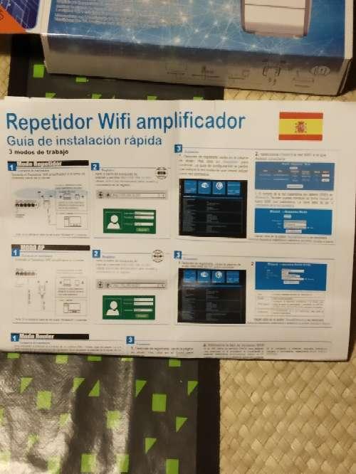 Imagen producto Amplificador-Repetidorn WiFi 4
