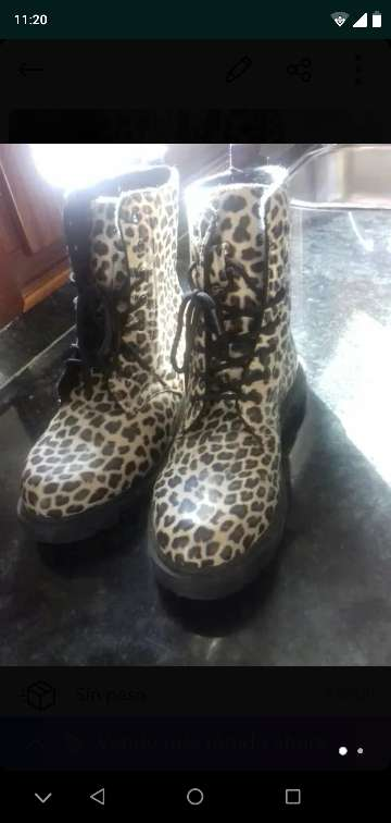 Imagen Botas de leopardo