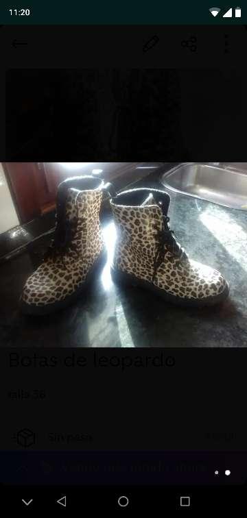 Imagen producto Botas de leopardo 2
