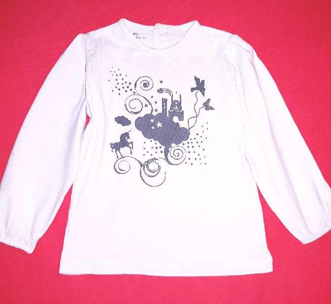 Imagen producto Camiseta unicornio, 3 años  1