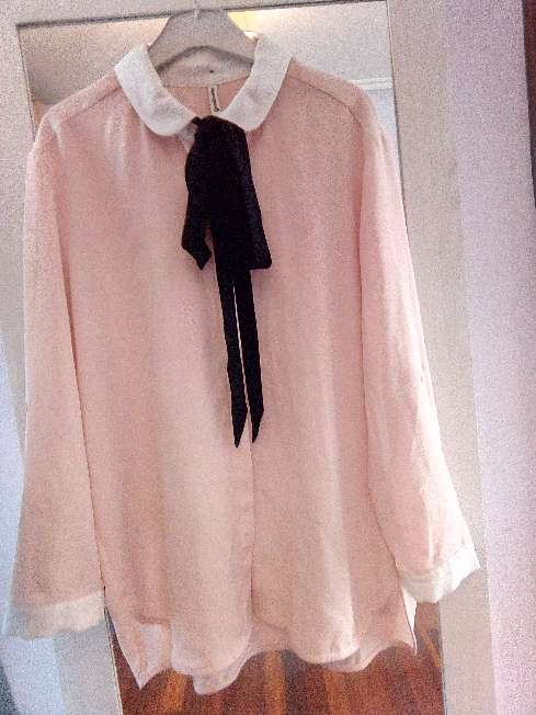Imagen Blusa rosa palo