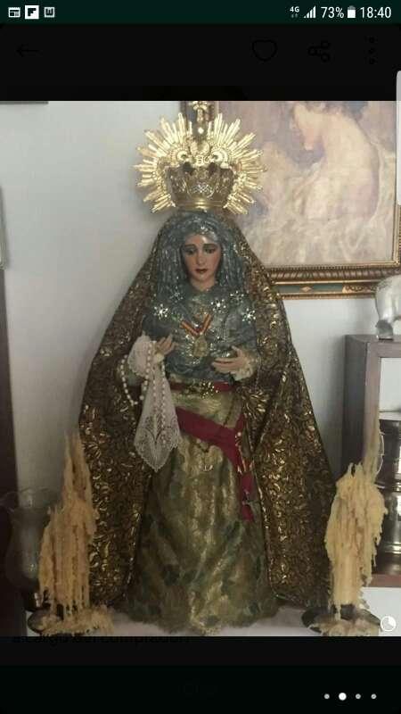 Imagen Virgen para vestir