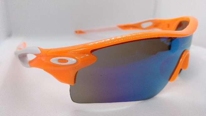 Imagen Oakley Radarlock Path Naranja y Blanco