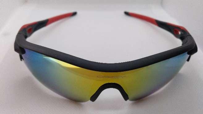 Imagen producto Oakley Radarlock Path Negro y Rojo 4