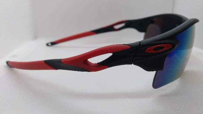 Imagen producto Oakley Radarlock Path Negro y Rojo 2
