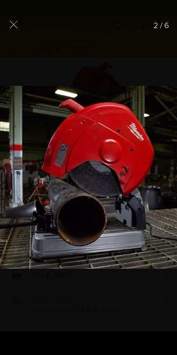 Imagen cortadora de metales troceadora disco de 14 pulgadas