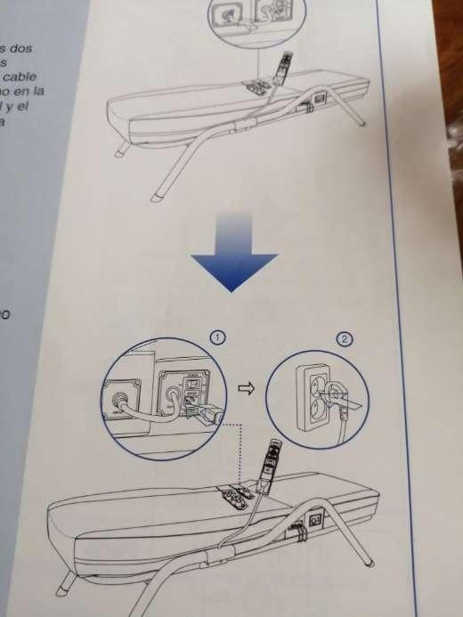 Imagen producto Mesa de masajes electrica 3