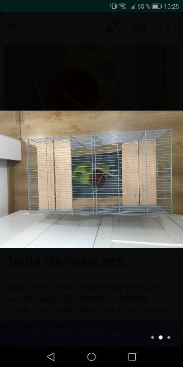 Imagen producto Jaula de roedor 2