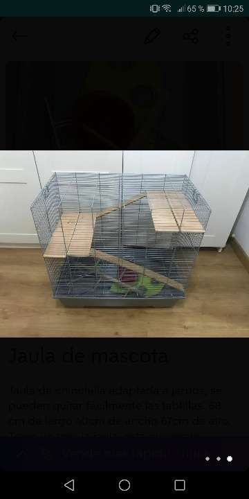 Imagen Jaula de roedor