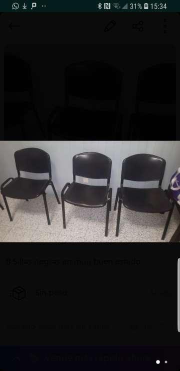 Imagen 8 sillas en perfecto estado