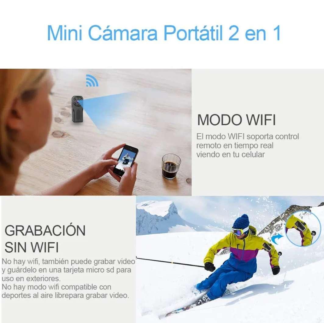 Imagen producto Mini Cámara espía HD WIFI 2