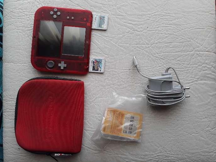 Imagen producto Nintendo 2ds edición roja 3