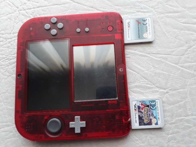 Imagen producto Nintendo 2ds edición roja 2