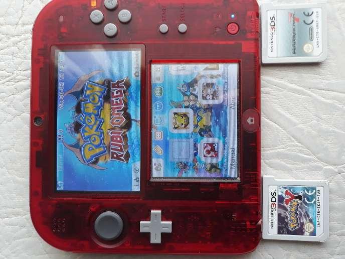 Imagen producto Nintendo 2ds edición roja 1