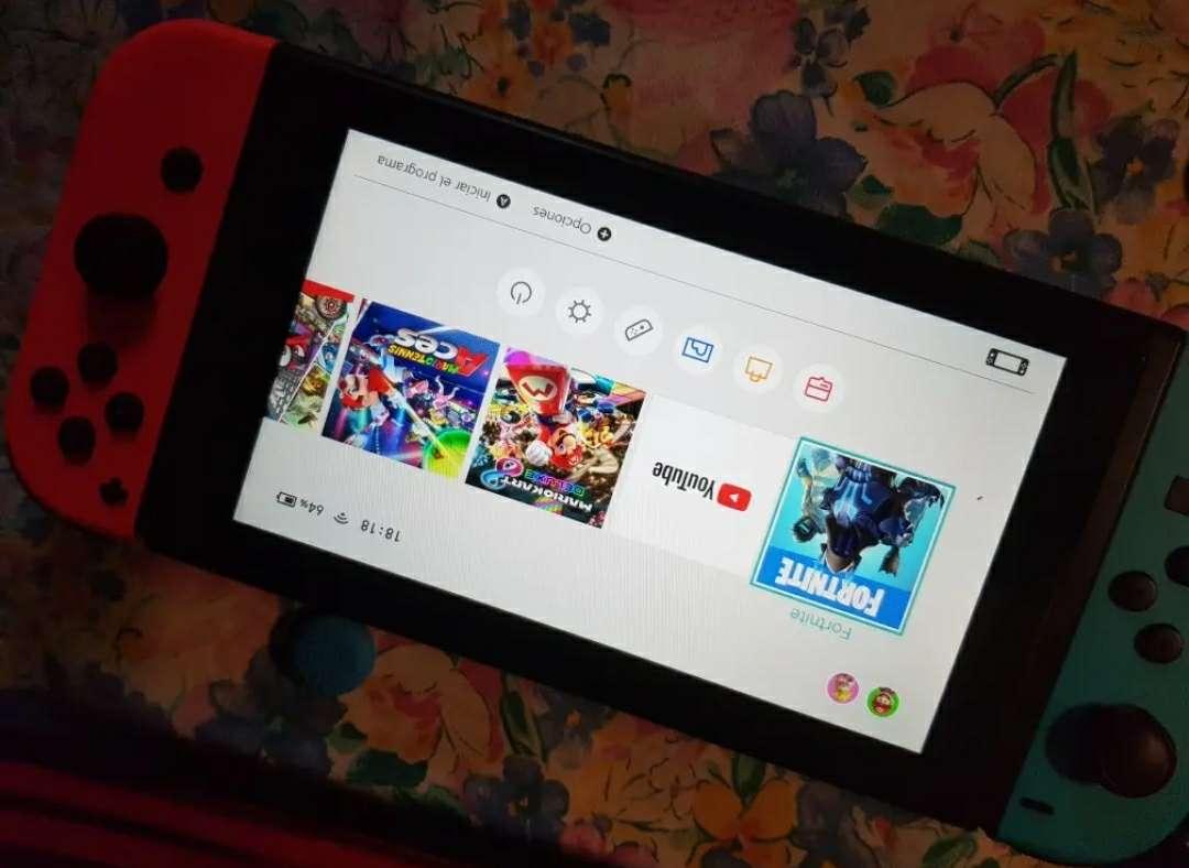Imagen producto Nintendo switch con accesorios 3