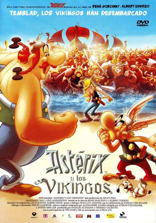 Imagen DVD Asterix y los vikingos