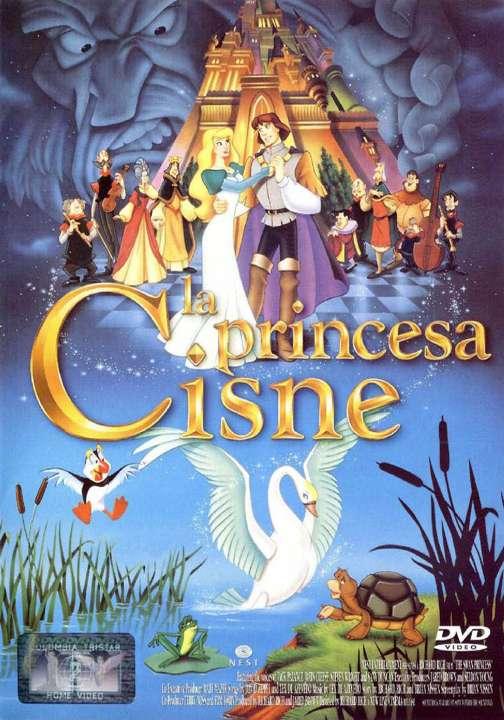 Imagen DVD La princesa cisne