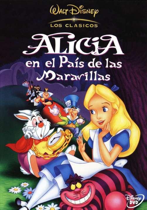 Imagen DVD Alicia en el País de las Maravillas