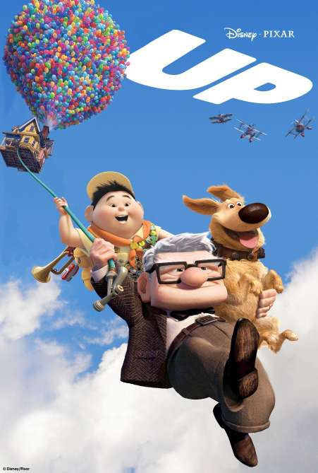 Imagen DVD de Up, de animación