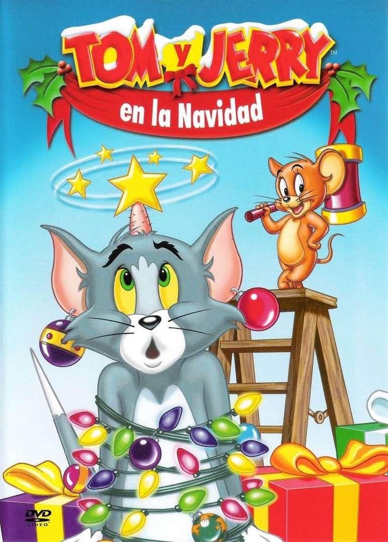Imagen DVD de Tom y Jerry en la Navidad