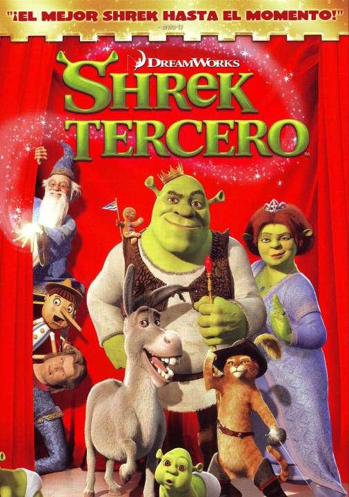 Imagen DVD de Shrek tercero