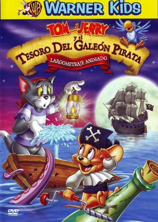 Imagen DVD de Tom y Jerry en el tesoro del galeón pirata