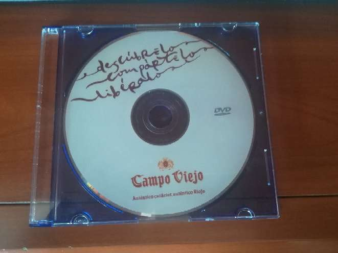 Imagen DVD informativo de vino Rioja Campo Viejo