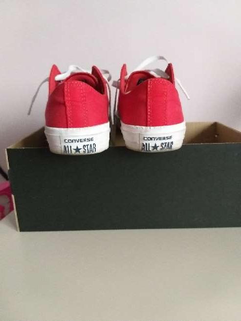 Imagen producto Zapatillas converse en rojas nuevas 4