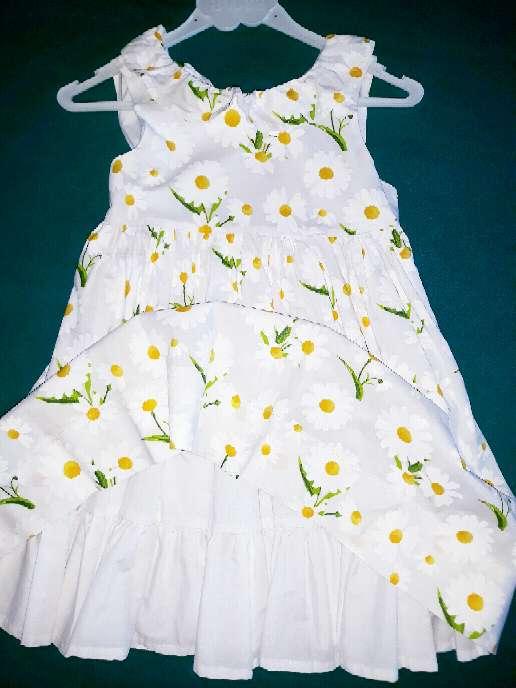 Imagen producto Vestido enagua, 4 años. Margaritas.  2