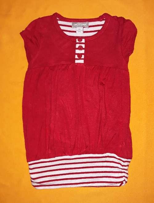 Imagen producto Vestido Orchestra rojo, 3 años.  1