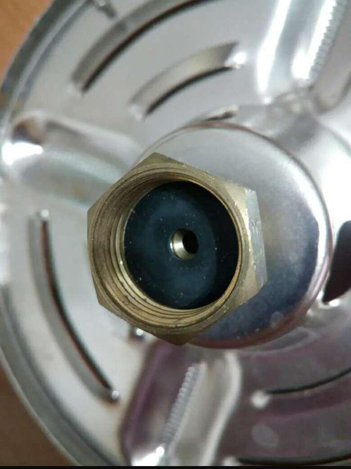 Imagen producto Cabeza de gas portátil de camping acero inoxidable 3