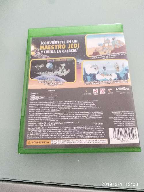 Imagen producto Angry birds star wars Xbox one 3
