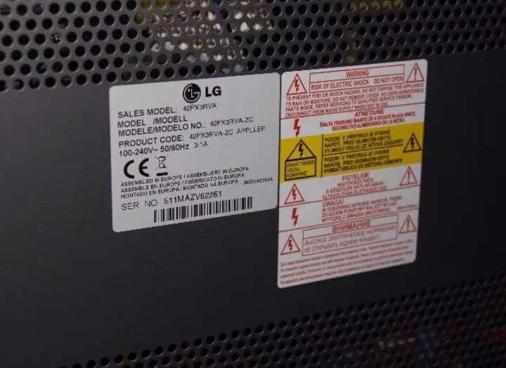 Imagen producto TV LG HD 42 pulgadas  2
