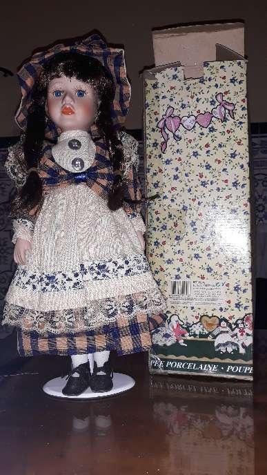 Imagen lote de 8 muñecas de porcelana de coleccion