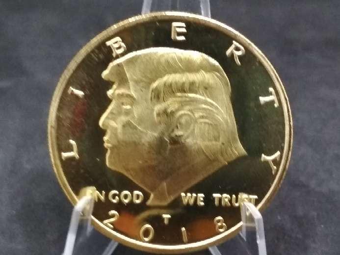Imagen producto Moneda - medalla Donald Trump 2018 USA  2