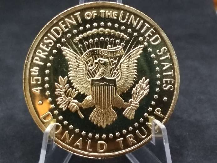 Imagen producto Moneda - medalla Donald Trump 2018 USA  3