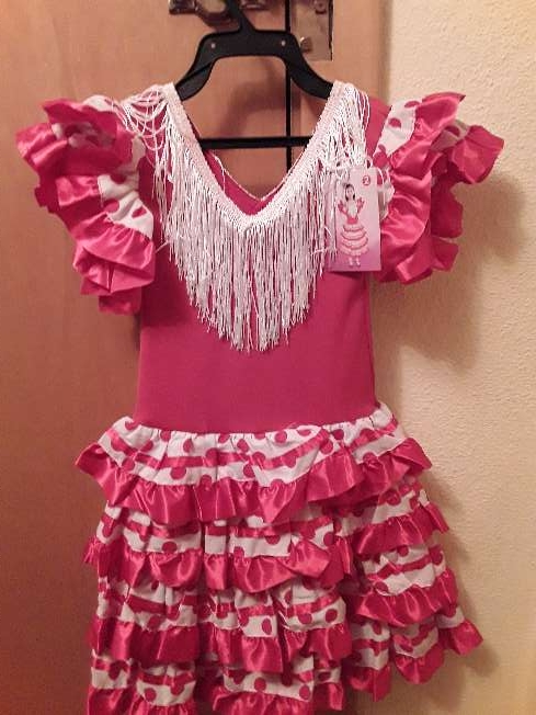 Imagen Vestido de Sevillana talla 2